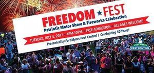 Fort Myers Freedom Fest - start Jul 04 2017 0400PM