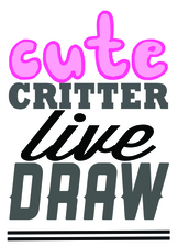 Medium cute 20critters 20live 20draw logo