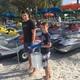 Matthew Devisse and friend Anthony