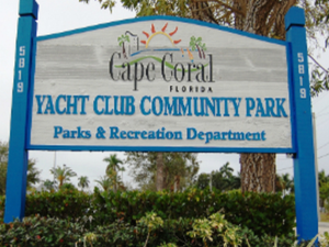 Main image yacht club community park sign