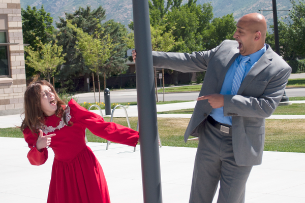 "Cottonwood Heights Art Council will present ""Annie"" staring Madeline Best in the title role and Rohit Raghavan as Daddy Warbucks. (Kristen Pedersen)"