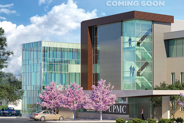 UPMC Outpatient Center in Hampton (Artist Rendering)