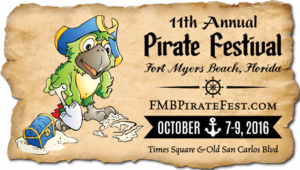 11th Annual Pirate Festival - start Oct 06 2017 0500PM