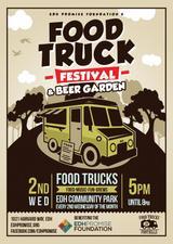 Medium food truck fest beer garden no date