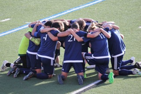 The Skyline men's soccer team had an especially tough season after losing a teammate and friend last year, Andrew Garcia. (Shawn Kennedy/Skyline boys soccer)
