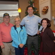 Alton and Cheryl Thacker (left) join Chick-fil-A owner Matt Griffith and Community Relations Director Jeanaea Lorton for a fundraiser. (Carl Fauver)