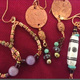 Thumb jewelry workshop earrings