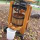 Apple cider press at Eastman Nature Center photo provided by Three Rivers Park District