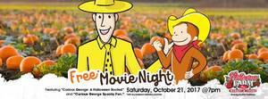 Movie Night Double Feature - start Oct 21 2017 0700PM