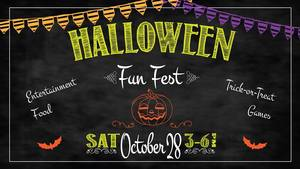 Halloween Fun Fest - start Oct 28 2017 0300PM