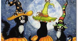 Medium halloween 20cats