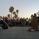Msgr. John Barry addresses the crowd.