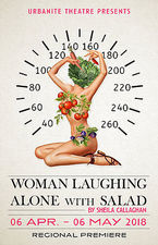 Women Laughing Alone With Salad - start Apr 06 2018 0800PM
