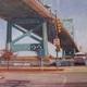 Benjamin Franklin Bridge by Mark Bockrath