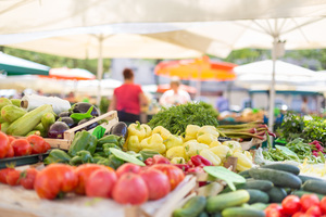 Heading for the Blue Zone Local farmers markets join project to encourage healthier lifestyles - Oct 25 2017 0141PM