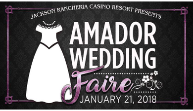 2018 amador wedding faire jackson rancheria bridal show