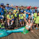 Elseanna at the Fish For Life event on the San Clemente Pier.