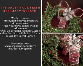 Medium wreath preorder