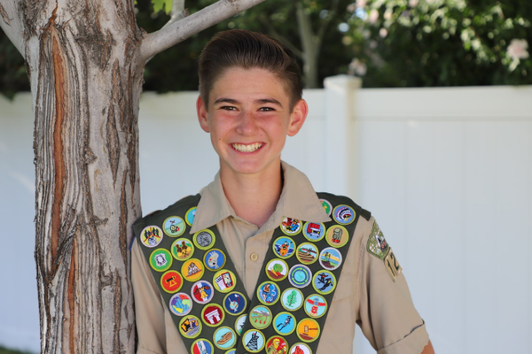 Jared Memmott, a 14-year-old from Draper, recently finished his goal of earning all 137 Boy Scout merit badges.
