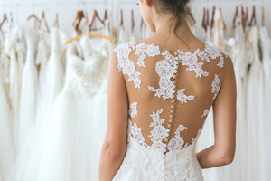 Medium bridalgown