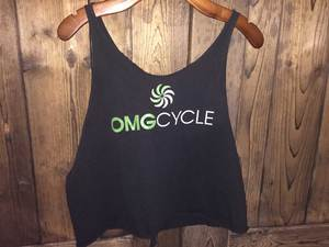 Medium omg cycle activewear tank top