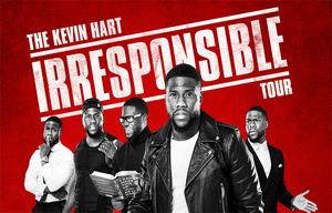 Kevin Hart Irresponsible Tour - start Jan 13 2018 0700PM