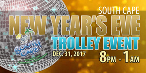 New Years Eve Trolley Event - start Dec 31 2017 0800PM