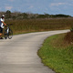 Bicycling is an up-close way to see the Everglades. Photo courtesy Judith Biery.