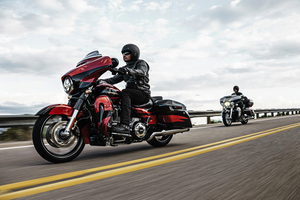 Harley extols its 2017 CVO Street Glide as the premium custom Grand American Touring machine for the long-haul rider who wants it all Photo courtesy of Harley-Davidson