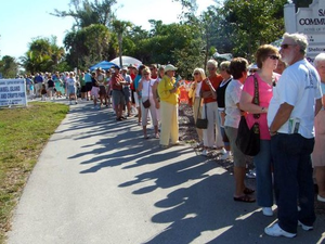 Sanibel Arts  Crafts Fair - start Feb 17 2018 1000AM