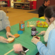 Students from Unionville High School helped make sandwiches at Hillendale Elementary.