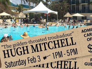 Songwriter Saturdays Hugh Mitchell  - start Feb 03 2018 0100PM