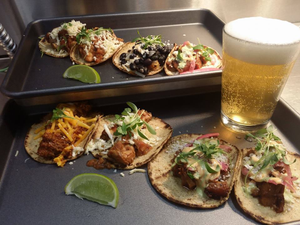 Lets Taco-about it with White River Junctions TRAIL BREAK taps  tacos - Jan 26 2018 0733PM