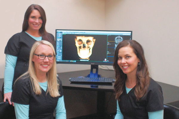 CBCT scan technology. Photo courtesy of Tabatha Knox, Vibrant Images