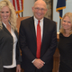 Cottonwood Heights councilwomen, Tali Bruce and Christine Watson Mikell, with Mayor Mike Peterson. (Cottonwood Heights)