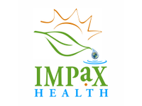 Impaxhealthlogowithworld
