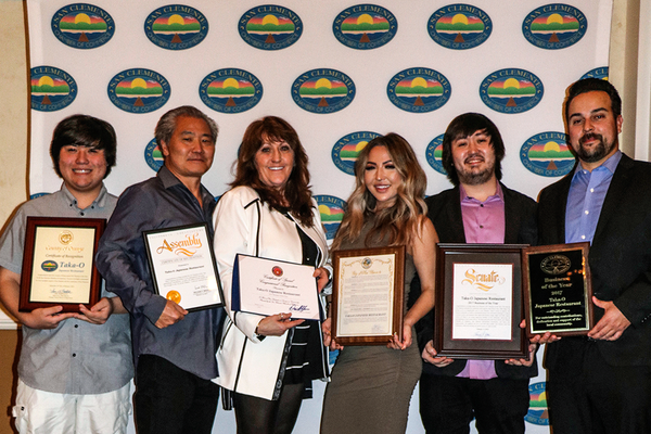 Taka-O Restaurant, Business of the Year