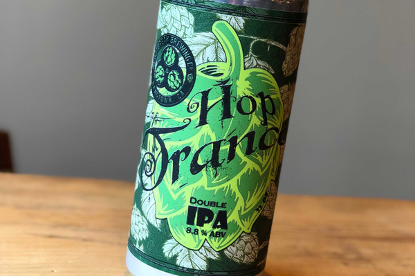Outbreak Brewing Co. Hop Trace Double IPA Crowler