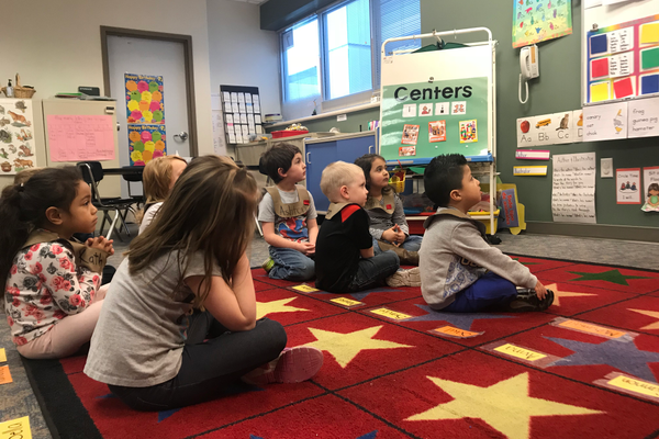 The Granite Early Childhood preschool classroom generally runs from 9 a.m.-noon and 12:45-3:45 p.m.  (Jessica Ivins/City Journals)