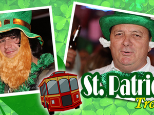 4th Annual St Patricks Day Trolley Event - start Mar 17 2018 0700PM