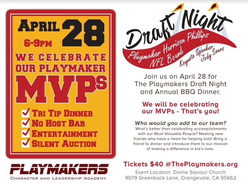 Playmakers 20  202018 20bbq 20dinner