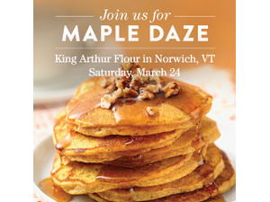 Maple Daze - start Mar 24 2018 0800AM