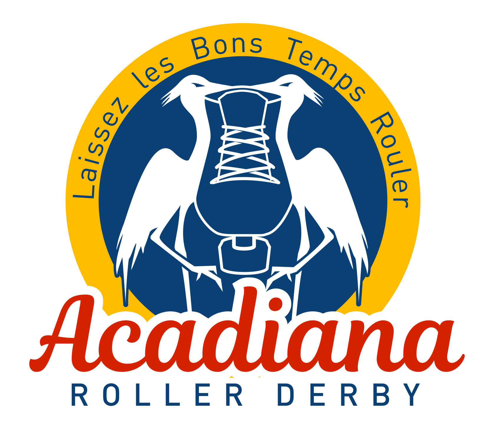 Acadiana 20roller 20derby 20logo 20  20color 20  20light 20bg 20  20primary 20lockup