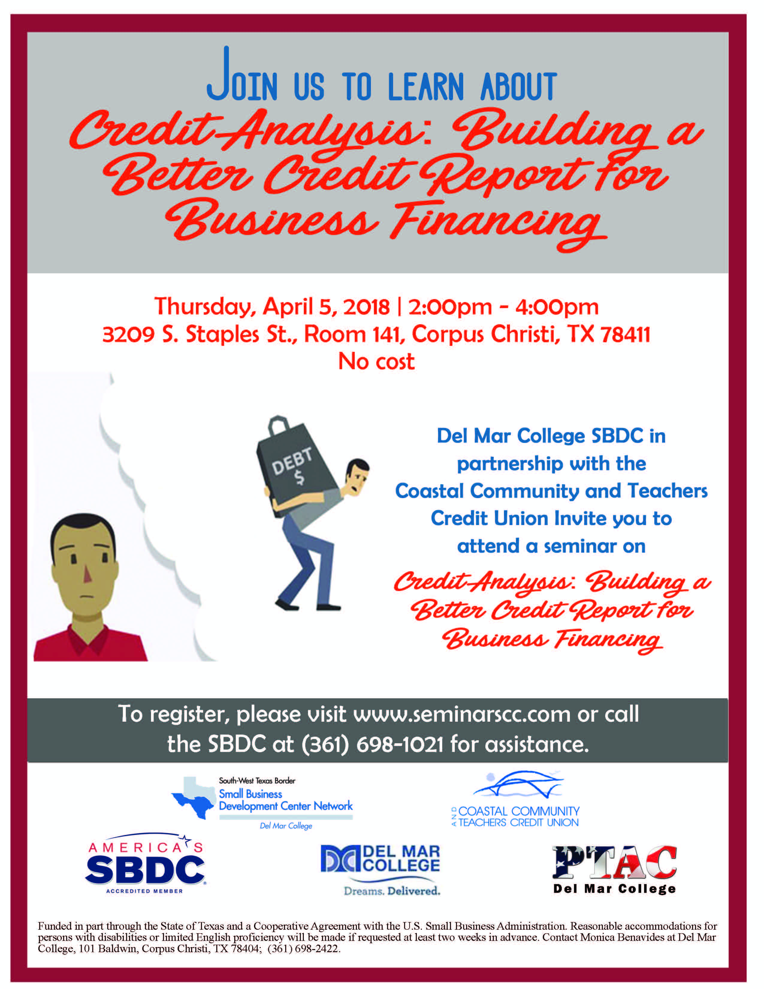 Flyer 20  20credit 20analysis 20building 20a 20better 20credit 20report 20for 20business 20financing 204.5.18