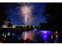 Southlake stars and stripes fireworks