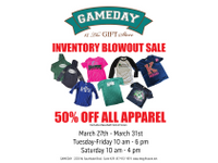 Gameday 2050 25 20off 20inventory 20sale 20flyer
