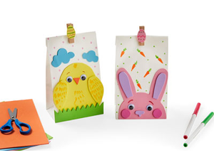 Kids Club Easter Treat Bags Ages 3 to 8 - start Mar 31 2018 1000AM