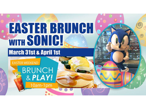 Easter Brunch with Sonic - start Mar 31 2018 1000AM