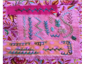Endless Embroidery with Susan Edmonson - start May 02 2018 1030AM