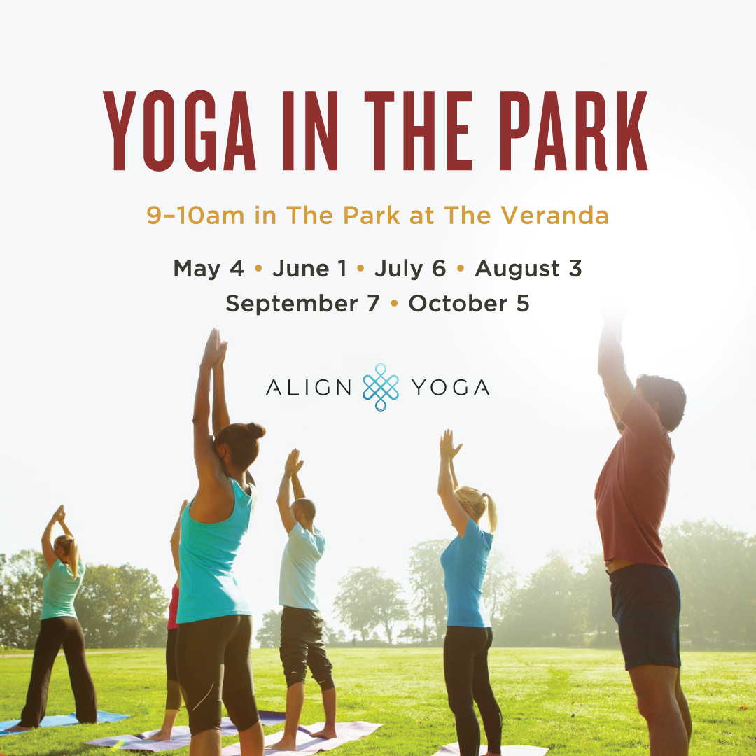 Yoga in the park photo